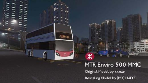 Photo of Cities: Skylines – Alexander Dennis Enviro 500 MMC MTR
