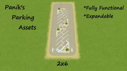 Photo of Cities: Skylines – Angled Parking 1