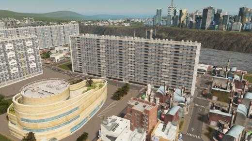 Photo of Cities: Skylines – Barre Robespierre (La Courneuve, France) RICO