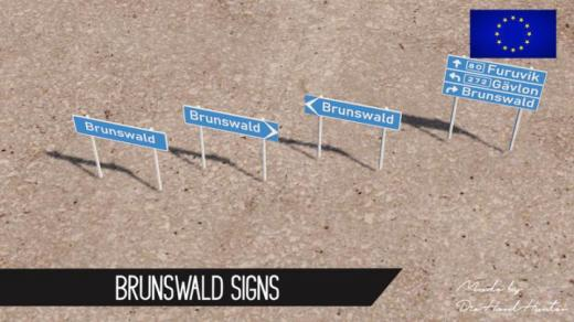 Photo of Cities: Skylines – Brunswald Signs