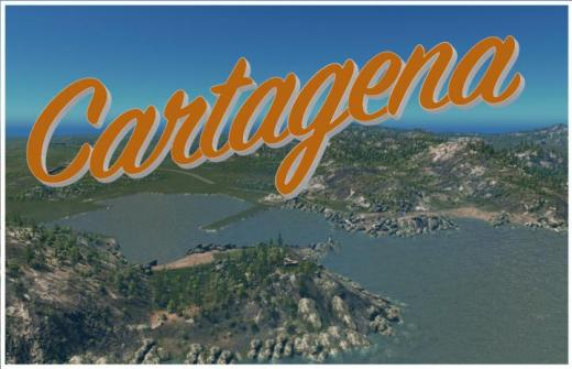 Photo of Cities: Skylines – Cartagena, Spain Map