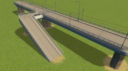 Photo of Cities: Skylines – Connectable Pedestrian