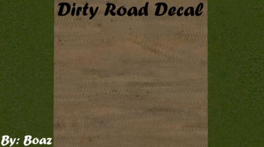 Photo of Cities: Skylines – Dirty Road Decal