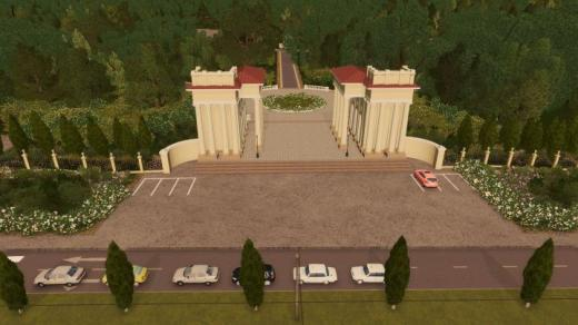 Photo of Cities: Skylines – Dnepr Park Main Gate #2
