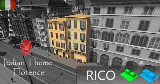 Photo of Cities: Skylines – Florence Blockhouse 2×2 LV3 Rico