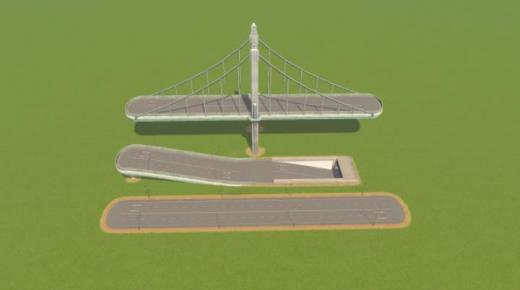Photo of Cities: Skylines – Four-lane Two-way Highway