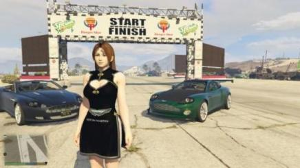 Photo of Gta 5 – Aston Martin Dress For Mai Shiranui 1.0