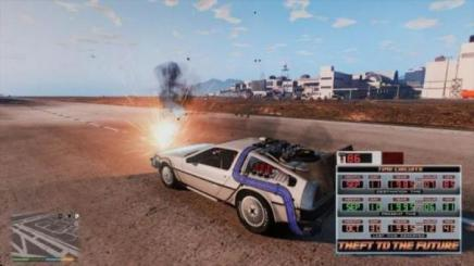 Photo of Gta 5 – Back To The Future Mod Fixed (Works 2019) 1.0