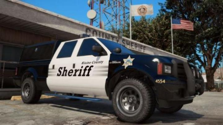 Gta 5 - Blaine County Sheriff's Office Search And Rescue Add-On 1 0