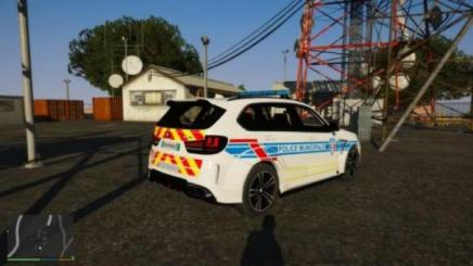 Photo of Gta 5 – Bmw X5M Regendage French Police Municipale Noels-Els 1.1