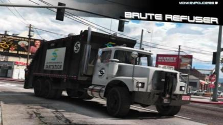 Photo of Gta 5 – Brute Refuser / Tipper-Based Trashmaster Add-On | Replace | Liveries | Template V1.0
