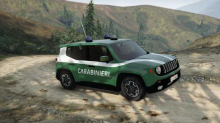Photo of Gta 5 – Jeep Renegade – Corpo Forestale Replace 1.0