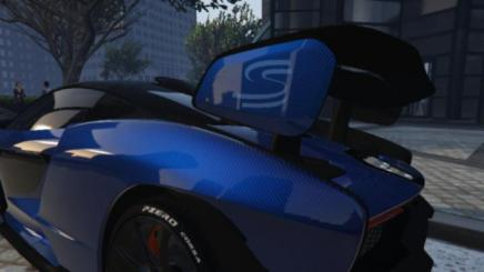 Photo of Gta 5 – Mclaren Senna #128 (Modica Blue Carbon Fiber) Final