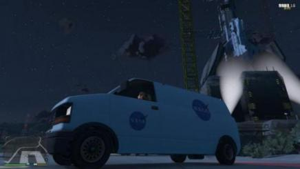 Photo of Gta 5 – Nasa Van 1.0