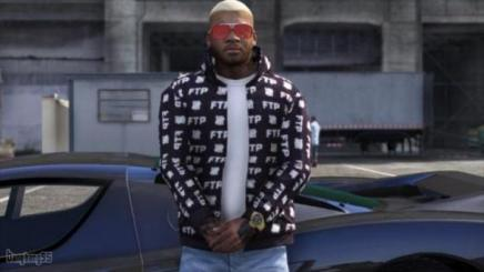 Photo of Gta 5 – New Open Hoodie Jacket – Franklin 1.0