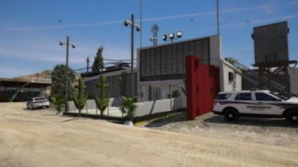Photo of Gta 5 – New – Police Station (Grapeseed Remastered) Map Mod 1