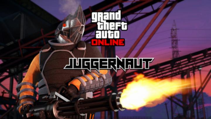Gta 5 - Working Juggernaut Suit - New PC Game Modding