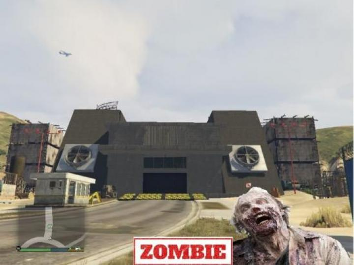Gta 5 - Zombie Base District 509 1.1 - New PC Game Modding