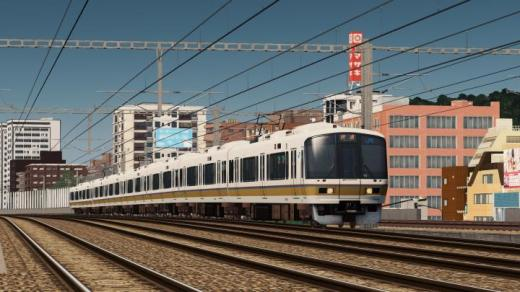 Photo of Cities: Skylines – JR West 221 Series ( 4 / 6 / 8 Cars)
