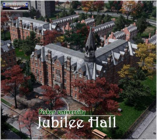 Photo of Cities: Skylines – Jubilee Hall (Campus life)