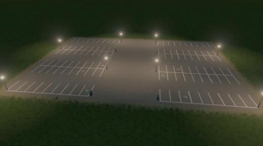 Photo of Cities: Skylines – Parking Lot 8×6