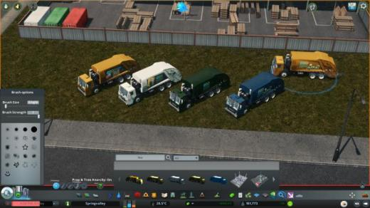 Photo of Cities: Skylines – [Prop] Cities Recycling Mack Terrapro Garbage Trucks