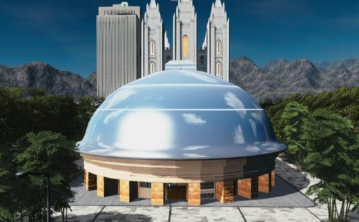 Photo of Cities: Skylines – Salt Lake Tabernacle