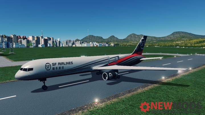 Photo of Cities: Skylines – SF Cargo Plane A