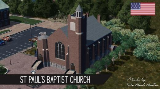 Photo of Cities: Skylines – St Pauls Baptist Church