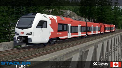 Photo of Cities: Skylines – Stadler FLIRT – OC Transpo (5Cars)