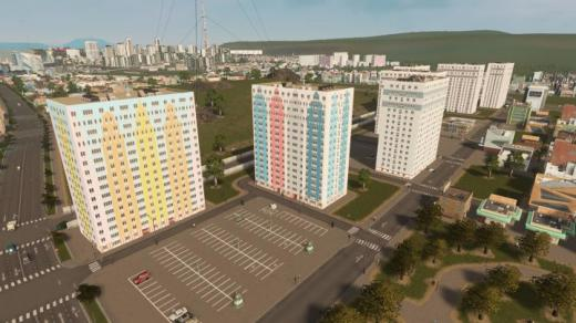 Photo of Cities: Skylines – Tour Nerval (Stains, France) RICO