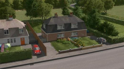 Photo of Cities: Skylines – UK Semi-Detached – House #2 – Level 1