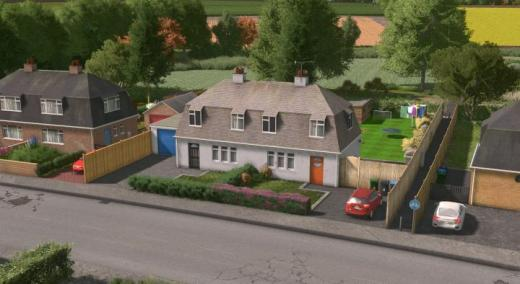 Photo of Cities: Skylines – UK Semi-Detached – House #3 – Level 1