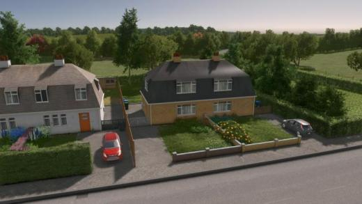 Photo of Cities: Skylines – UK Semi-Detached – House #4 – Level 1
