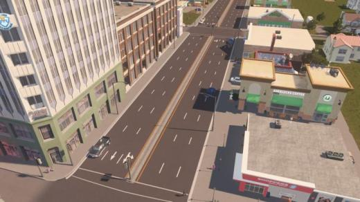 Photo of Cities: Skylines – [US Road Project] 6-Lane Boulevard