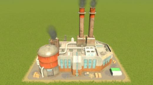 Photo of Cities: Skylines – Advanced oil Power plant