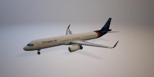 Photo of Cities: Skylines – Airbus A321 Sriwijaya Air PROP