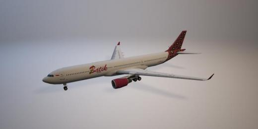 Photo of Cities: Skylines – Airbus A330 Batik Air PROP