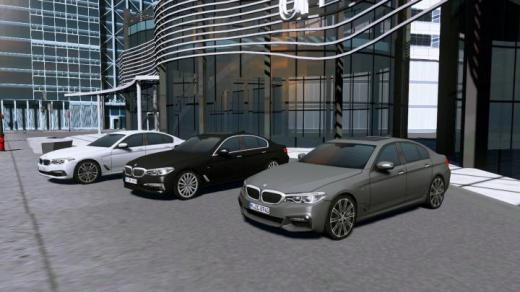 Photo of Cities: Skylines – BMW 5-Series Saloon (G30) PROP Pack