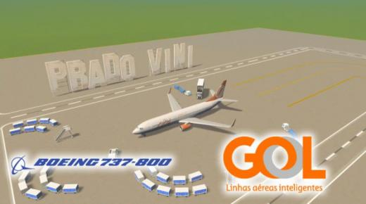 Photo of Cities: Skylines – Boeing 737-800 Gol Airlines