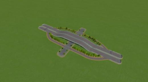 Photo of Cities: Skylines – Canadian Highway Exit