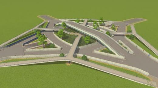 Photo of Cities: Skylines – City Roundabout
