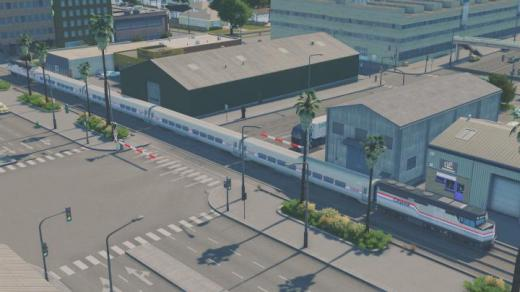 Photo of Cities: Skylines – Citylink Retro Trains Pack (Amtrak Phase 3)