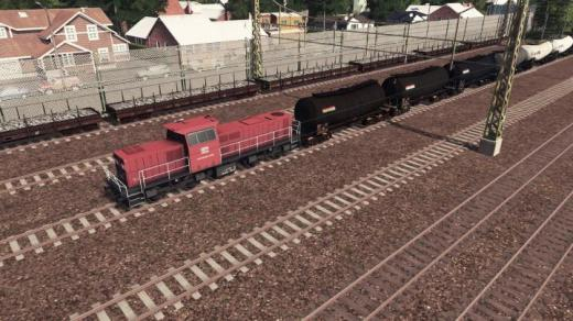 Photo of Cities: Skylines – Class 6400 (DB) with ZACENS (11 Trailers)