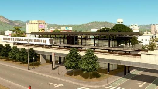 Photo of Cities: Skylines – DR Byen Station [Metro Station]