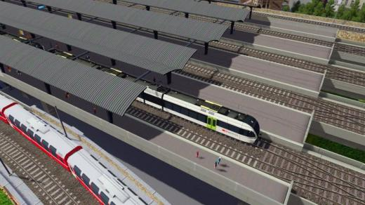 Photo of Cities: Skylines – European module elevated station platform extension