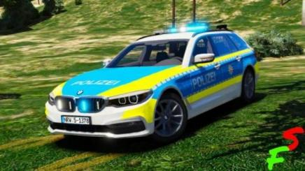 Photo of Gta 5 – 2018 Bmw G31 5 Series | Polizei Nrw V1.0