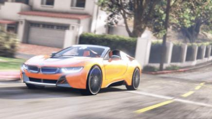 Photo of Gta 5 – 2019 Bmw I8 Roadster Add-On / Replace