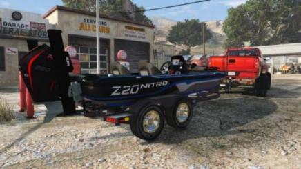 Photo of Gta 5 – 2019 Nitro Z20 Bass Boat And Traileradd 1.0