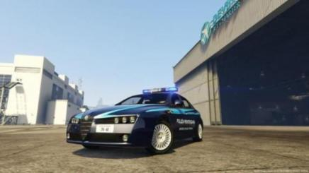 Photo of Gta 5 – Alfa Romeo 159 – Penitentiary Police 1.0
